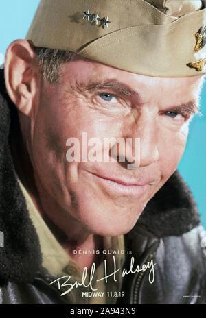 À mi-chemin, caractère nous poster, Dennis Quaid que Bull Halsey, 2019. © Lionsgate / courtesy Everett Collection
