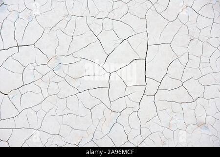 La texture de fond de la poudre de marbre compacté montrant un résumé des remplages des fissures dans une mine de Carrare en Italie Banque D'Images