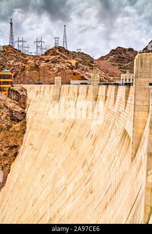 Le Barrage Hoover sur le fleuve Colorado, ETATS UNIS