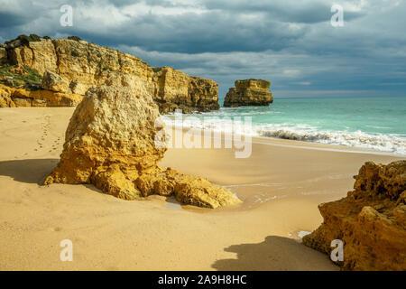 Portugal, Algarve, Praia de São Rafael, Albufeira, Banque D'Images