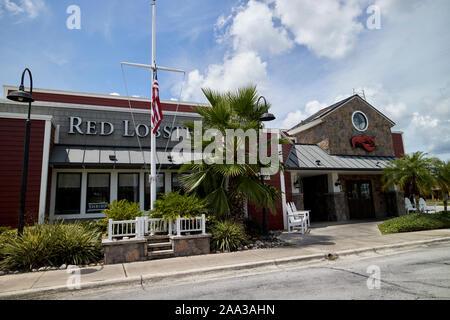 Red Lobster restaurant florida usa Banque D'Images