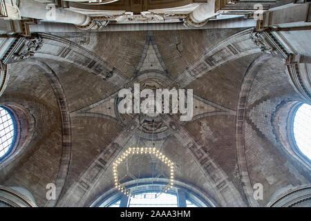 Plafond de l'hôtel de ville de Hanovre, Allemagne Banque D'Images
