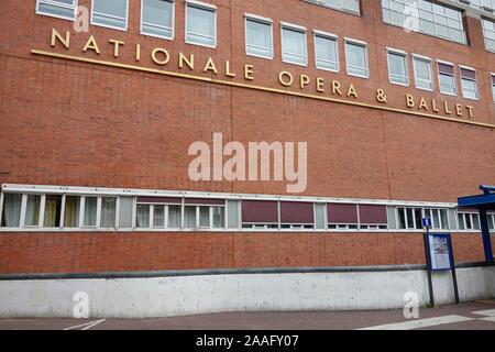 Nationale d'opéra et de Ballet- Amsterdam, Hollande, Pays-Bas Banque D'Images