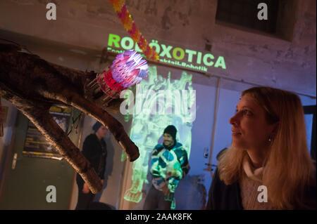 Wien, Roboexotica, Roboter Boissons mixen