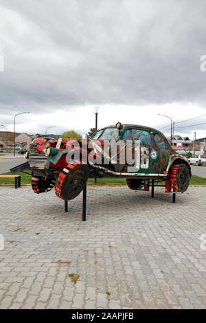 1940 Chevrolet monument à la Gran Premio del Sur 1942 en Argentine.