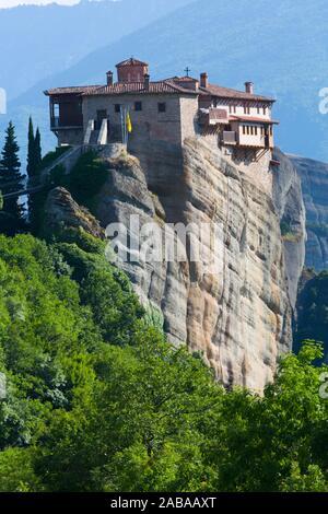 Saint Monastère de Rousanou, Météores, UNESCO World Heritage Site, Thessalie, Grèce