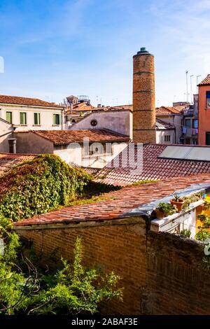 Vue de dessus de Venise, Italie.