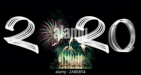 La veille du Nouvel An 2020 avec Fireworks