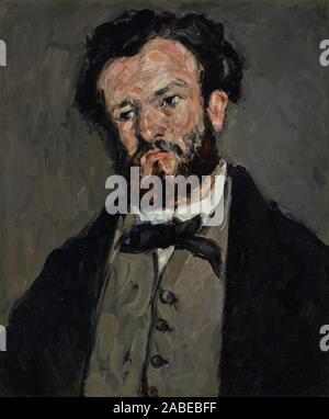 Portrait de Anthony Valabrègue; Paul Cézanne (Français, 1839 - 1906); 1869 - 1871 Banque D'Images