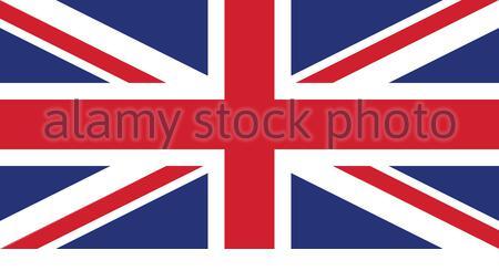 Royaume-uni Grande-bretagne flag vector isoler Banque D'Images