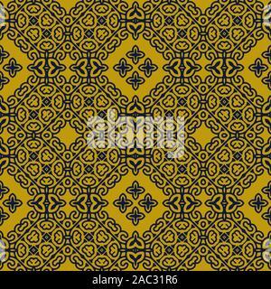 Kaléidoscope abstrait coloré texture background pattern. (Tuiles sans couture, vector illustration)