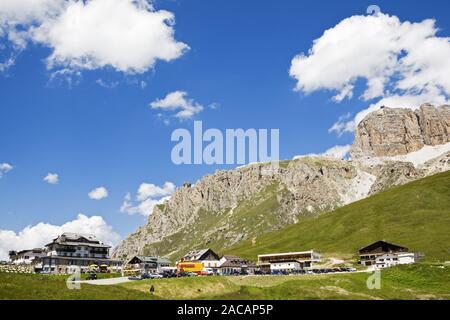 Cols alpins, le Tyrol du Sud, Italie, Europe Banque D'Images