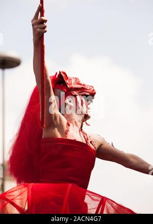 Carnaval des Cultures de Berlin (2010) Banque D'Images