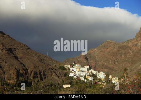 Valle Gran Rey, La Gomera, Canary Islands, Spain Banque D'Images