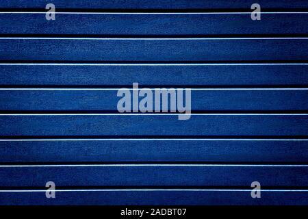 Texture background d'évitement est bleu. bordure en plastique Conseil. ton bleu texture de fond mur bois artificiel l'abstraction Banque D'Images