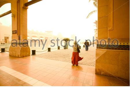 Le centre commercial Al Kout dans la ville de Koweït, Koweït. Banque D'Images