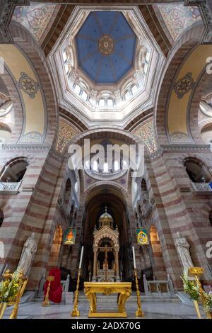 Cathédrale La Major - Cathédrale Sainte-Marie-Majeure de Marseille, France, Europe Banque D'Images