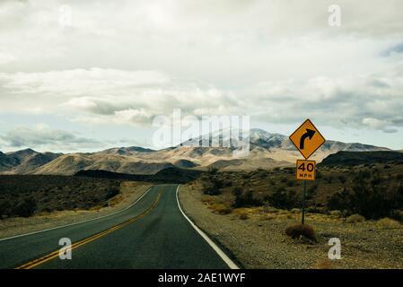 Artist's Drive à Death Valley National Park, California, USA.