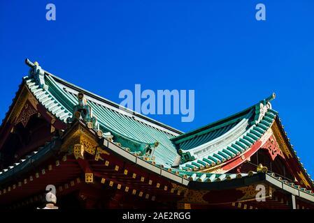 Sanctuaire Kanda Chiyoda à Tokyo,