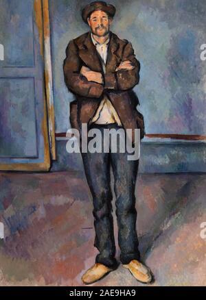 Vintage art peinture Paul Cézanne Banque D'Images
