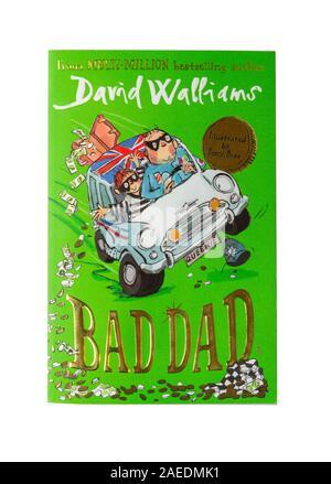 """David Walliams """"mauvais père"""" livre pour enfants, Grand Londres, Angleterre, Royaume-Uni Banque D'Images"""