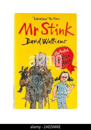 David Walliams 'Mr Stink' children's book, Greater London, Angleterre, Royaume-Uni Banque D'Images