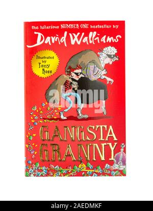 David Walliams 'Gamgsta Granny' children's book, Greater London, Angleterre, Royaume-Uni Banque D'Images