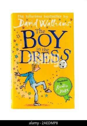 David Walliams 'le garçon dans la robe' children's book, Greater London, Angleterre, Royaume-Uni Banque D'Images