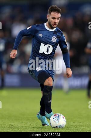 Les Blackburn Rovers' Adam Armstrong durant le ciel parier match de championnat au Liberty Stadium, Swansea. Banque D'Images