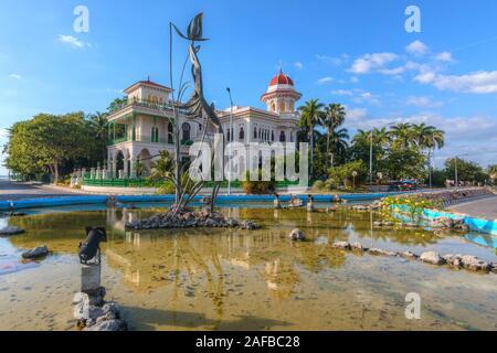 Punta Gorda, Cienfuegos, Cuba, l'Amérique du Nord Banque D'Images