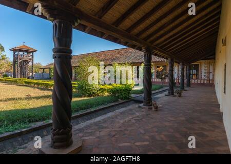San Rafael de Velasco, Mission des Jésuites sur le circuit, Jésuite, au patrimoine mondial de l'Unesco, des basses terres de l'Amérique latine, Bolovia Banque D'Images