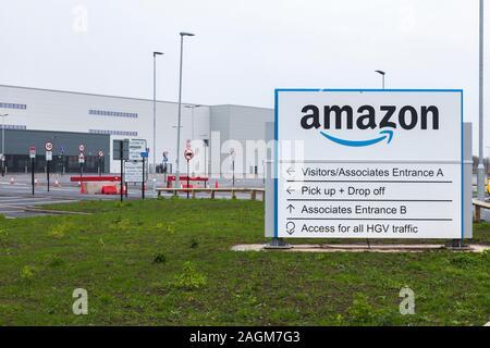 La nouvelle Amazon Fulfillment Center au Parc de symétrie en Darlington,Angleterre,UK.Annonce du 19/12/19 Banque D'Images