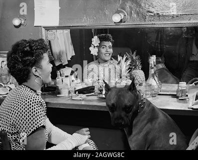 Portrait de Billie Holiday, New York, N.Y., ca. Juin 1946 Banque D'Images
