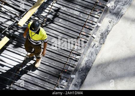 Travailleur sur chantier - France