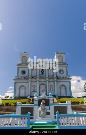 Notre Dame de l'Assomption dans l'église Sainte-Marie, Martinique, France Banque D'Images