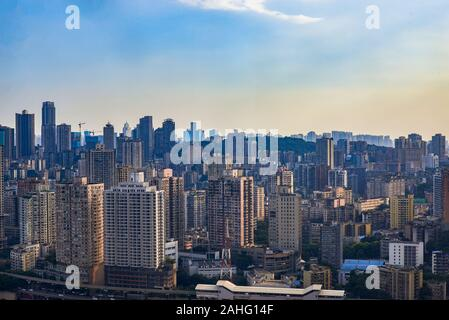 Les immeubles de grande hauteur à Chongqing