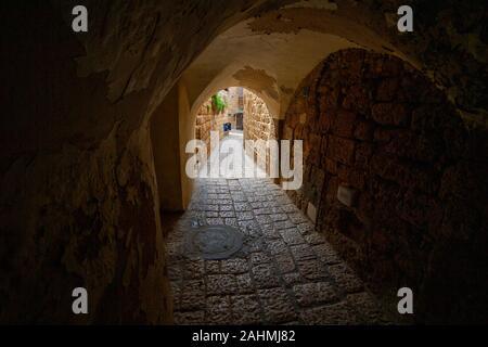 Rénové de la vieille ville de Jaffa, Israël maintenant une colonie d'artistes et d'attraction touristique. Israël Jaffa Banque D'Images