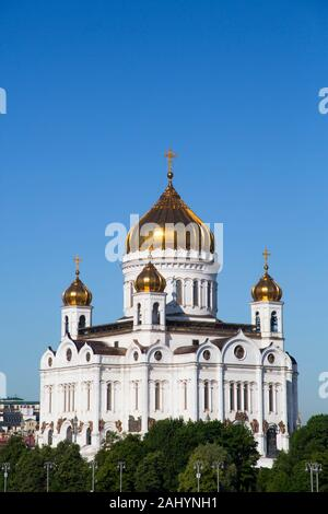 Cathédrale de Christ le Sauveur, Moscou, Russie Banque D'Images