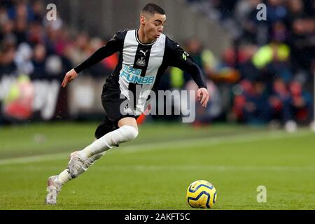 Miguel Almiron de Newcastle United - West Ham United v Newcastle United, Premier League, stade de Londres, Londres, Royaume-Uni - 1er novembre 2019 Editorial N'utilisez que des restrictions s'appliquent - DataCo Banque D'Images