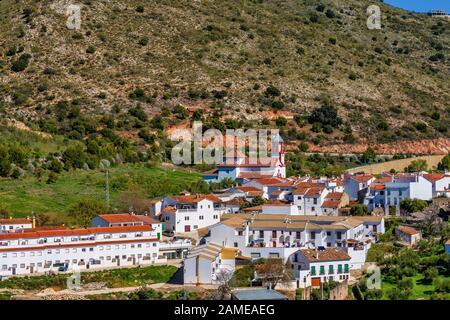 Atajate dans la région de Ronda, Andalousie, Espagne, péninsule ibérique Banque D'Images
