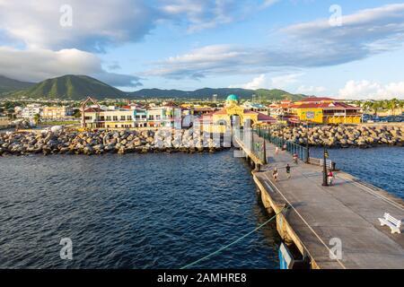 Terminal De Croisière De Port Zante, Basseterre, Saint-Kitts-Et-Nevis, Îles Leeward, Antilles, Caraïbes