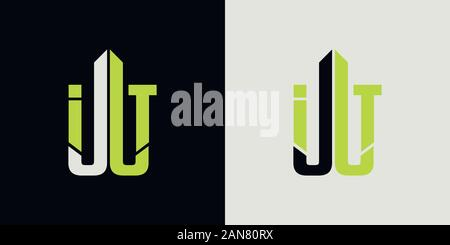 Logo unique qui peut aider votre entreprise à grandi Banque D'Images