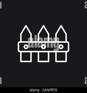 L'icône de clôture, télévision moderne minimaliste style design Banque D'Images