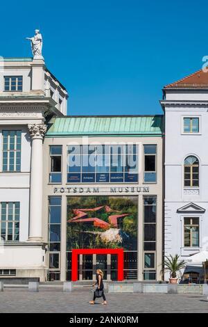 Ancien hôtel de ville et musée de Potsdam Banque D'Images