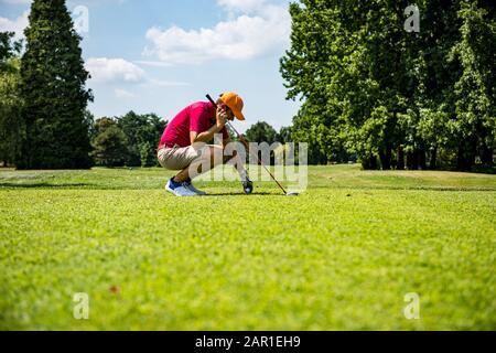 Frapper la photo de golf parfaite