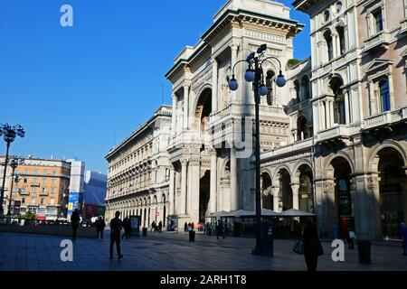 Galleria Vittorio Emanuele Ii, Piazza Del Duomo, Milan, Province De Lombardie, Italie, Europe Banque D'Images