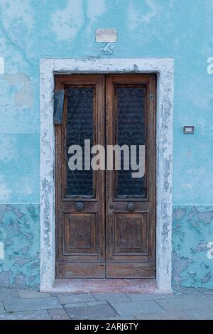 Les maisons colorées de Burano, Venice Lagoon, Venise Italie