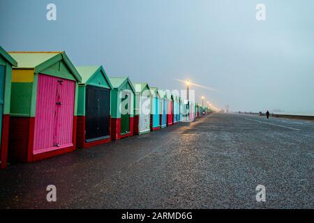 Beach Box sur la promenade de Brighton au Royaume-Uni
