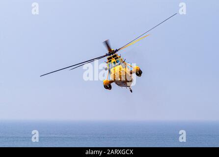 Hélicoptère de sauvetage de la RAF Banque D'Images