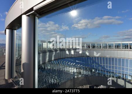 Japon Osaka Umeda Sky Building Banque D'Images